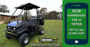 Hammerhead 150 Tipper from Goulburn Off Road Carts