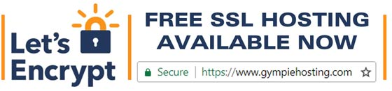 FREE SSL Hosting at Gympie Hosting